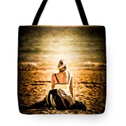 Staring At The Horizon Tote Bag