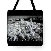 Surreal Cemetery Tote Bag