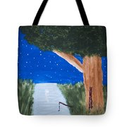 Starlight Fishing Tote Bag by Melissa Dawn