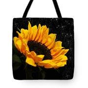 Starlight Sunflower Tote Bag