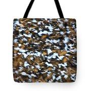 Starling Swarm Tote Bag