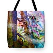 Starr Lynn Holly Berry Fairy Tote Bag