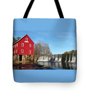 Starr's Mill In Senioa Georgia Tote Bag