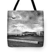 Starry Bay Day Tote Bag