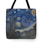 Starry Night Copy 8 Tote Bag