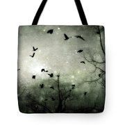 Starry Night Reflections Tote Bag