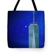 Starry Nights - Wtc One Tote Bag