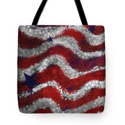 Starry Stripes Tote Bag