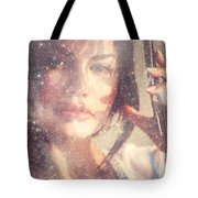 Starry Woman. Day Dreamer Tote Bag