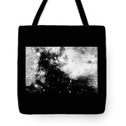 Stars And Cloud-like Forms In A Night Sky Tote Bag