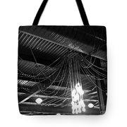Stars And Metal Night Sky Tote Bag