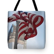 Stars And Stripes And 1 W T  C Tote Bag