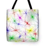 Stars Are The Flowers Of Heaven Tote Bag