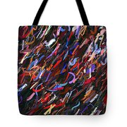 Stars In The Night Sky Abstract 3a Tote Bag