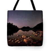 Stars Over The Bubbles Tote Bag by Brent L Ander