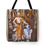 Stars Wars Autographed Movie Poster Tote Bag
