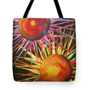 Stars With Colors Tote Bag