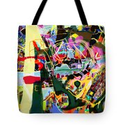 Wiping Out The Language Of Amalek 9dbk Tote Bag