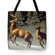 Startled - Variation Tote Bag by Crista Forest