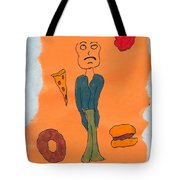 Starving Tote Bag