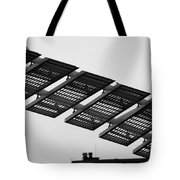 Starway To... In Black And White Tote Bag