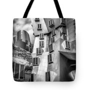 Stata Building 1 Bw Tote Bag