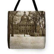 State Building Boston Massachusetts Circa 1900 Tote Bag