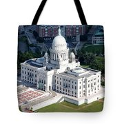 State Capitol Buildng Providence Rhode Island Tote Bag
