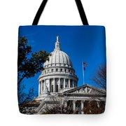 State Capitol In Madison Wi Tote Bag