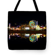 State Fair In Reflection Tote Bag