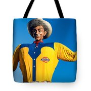 State Fair Of Texas Big Tex Yellow Tote Bag