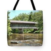 State Road Covered Bridge Tote Bag