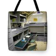 State Room Aboard Battleship Uss Tote Bag
