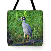 Stately Heron Tote Bag
