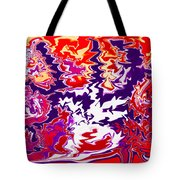 Static Electricity Tote Bag