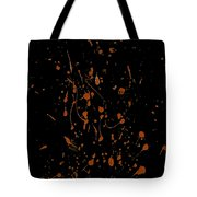 Static In The Line Tote Bag
