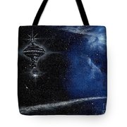 Station In The Stars Tote Bag