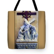 Station Of The Cross 06 Tote Bag
