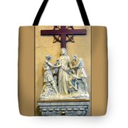 Station Of The Cross 10 Tote Bag
