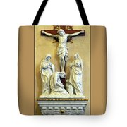 Station Of The Cross 12 Tote Bag