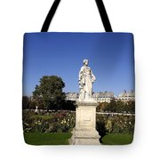 Statue At The Jardin Des Tuileries In Paris France Tote Bag