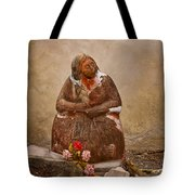 Statue From Mission San Juan Capistrano Tote Bag