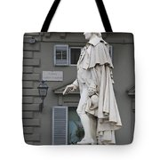 Statue Of Carlo Goldoni Tote Bag