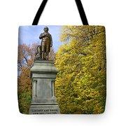 Statue Of Daniel Webster - Central Park Tote Bag