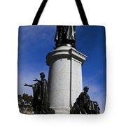 Statue Of King Edward Vii Tote Bag