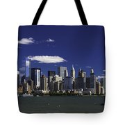 Statue Of Liberty Ferry 2 Tote Bag