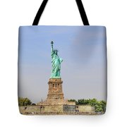 Statue Of Liberty Macro View Tote Bag