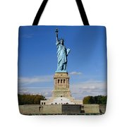 Statue Of Liberty Tourism Tote Bag