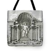 Statue Of Olympian Zeus Tote Bag
