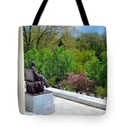Statue Of President Lincoln Tote Bag